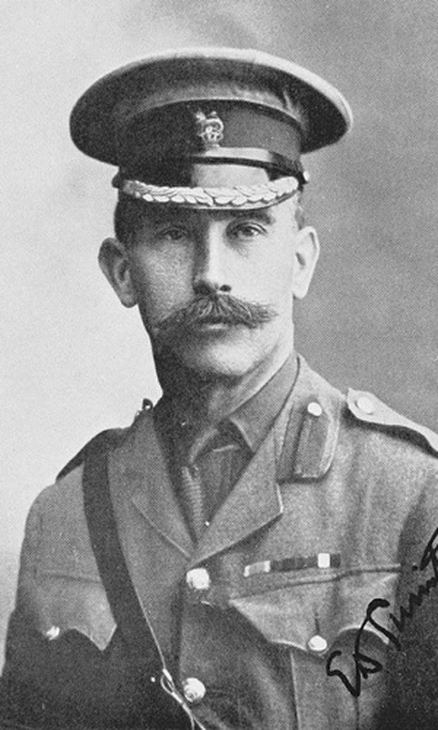 Ernest Dunlop Swinton, Foto von etwa 1919