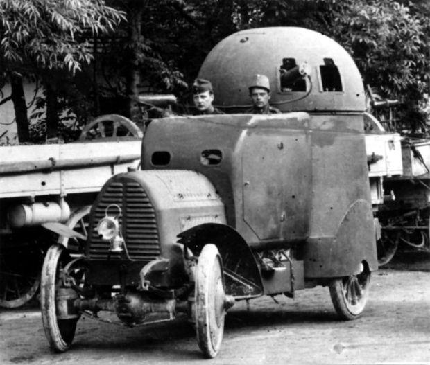 Der Austro-Daimler-Panzerwagen