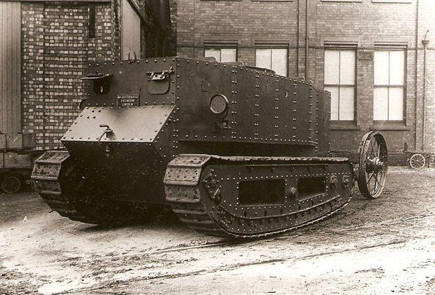 Der erste Panzer der Welt: Little Willie