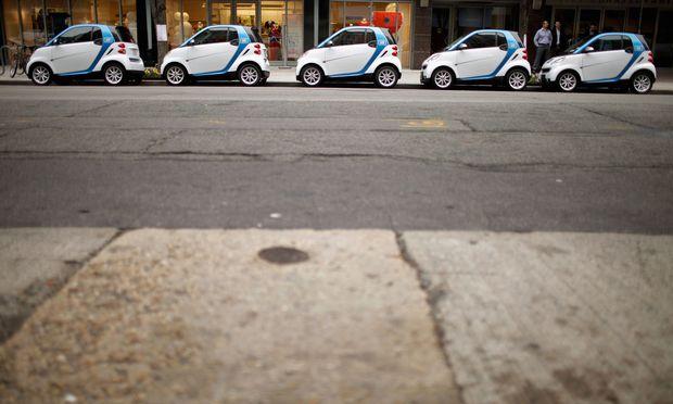 Die Nutzer von Carsharing sorgen für mehr Autos, Verkehr und CO2-Emissionen.
