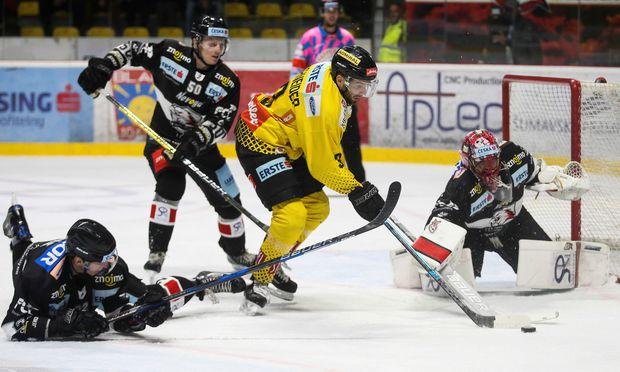 Eishockey Vienna Caps Gewannen Auch Zehntes Saisonspiel
