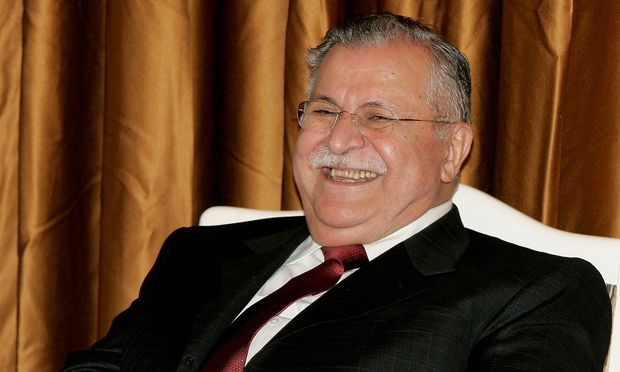 Iraks ehemaliger Präsident Talabani ist tot