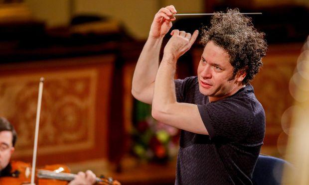 Dirigent Gustavo Dudamel.