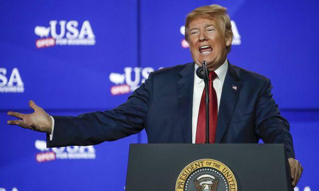 Medienbericht - Trump hätte gerne WTO-Austritt der USA