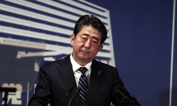 Japans Regierungschef, Shinzō Abe.