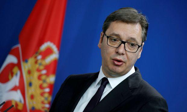 Serbiens Präsident Vučić verweigert das Treffen mit Kosovos Präsidenten Thaçi.