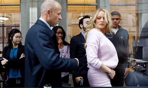 FILE PHOTO: Stormy Daniels enters federal court in Manhattan