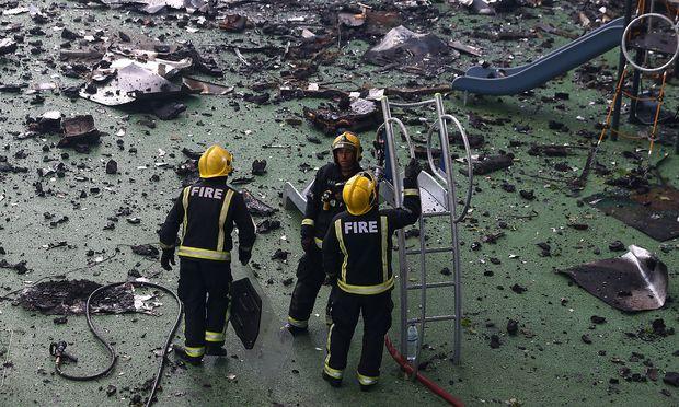 Kritik an Brandschutz im Londoner Grenfell Tower wächst