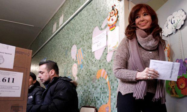 Ex-Präsidentin Kirchner könnte bald als Stellvertreterin von ihrem Ex-Kabinettschef Fernández an die Macht zurückkehren.