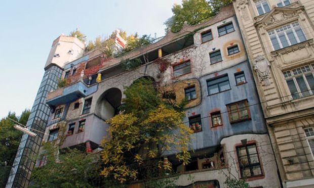 HundertwasserHaus auch Josef Krawina