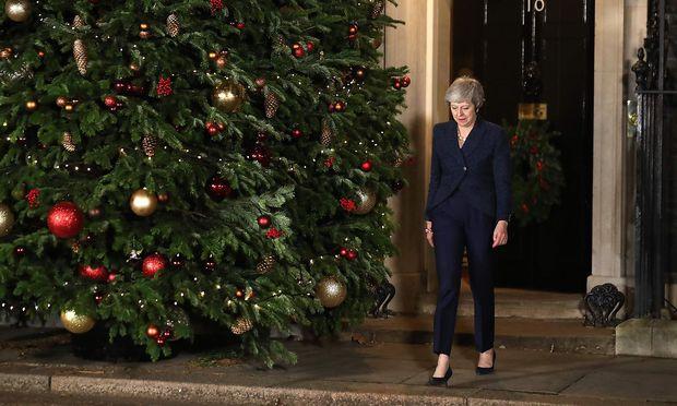 Die britische Premierministerin May.
