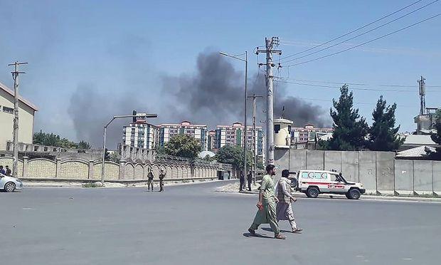 Afghanistan - Ein Toter und 105 Verletzte bei Anschlag