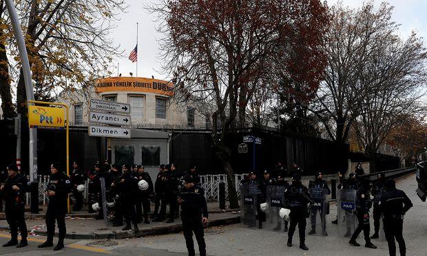 US-Botschaft in Ankara aus Sicherheitsgründen geschlossen