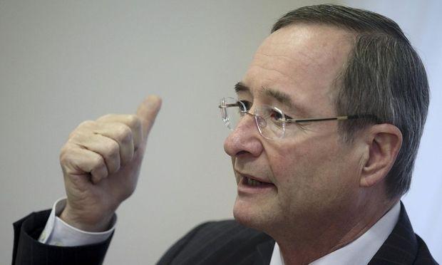 Wirtschaftskammerpräsident Christoph Leitl
