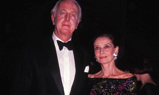 Hubert de Givenchy und Audrey Hepburn im Waldorf Astoria.