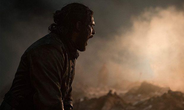 Nein, diesmal ist Jon Snow nicht der überragende Held dieser düsteren Folge. / Bild: (c) HBO/sky (Helen Sloan)