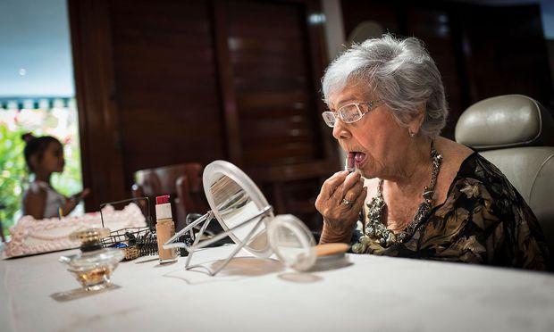 Delia Barroso feierte im Mai in Havana auf Kuba ihren 102. Geburstag.