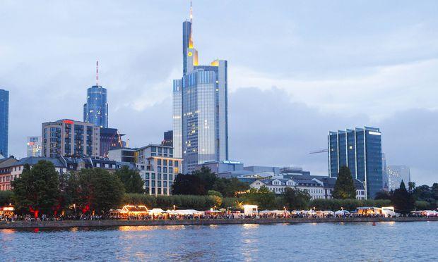 Finanzzentrum Frankfurt.
