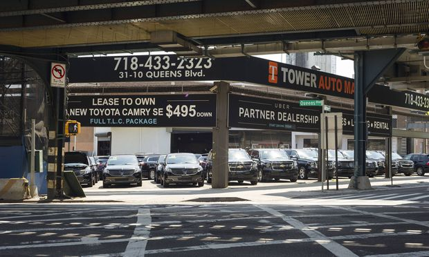 Acitivities in Long Island City in New York An automobile deal partners with Uber in Long Island Cit