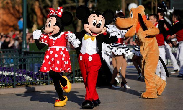 Symbolbild: Mickey und Minnie Mouse von Walt Disney