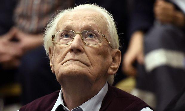 96-jähriger Auschwitz-