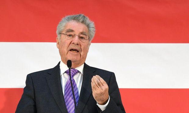 Archivbild: Alt-Bundespräsident Heinz Fischer