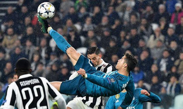 Ronaldos Fallrückzieher gegen Juventus