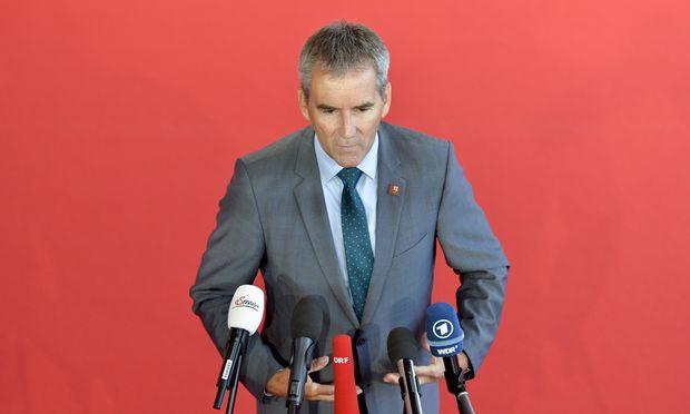 Finanzminister Hartwig Löger will weiter an der Budgetdisziplin festhalten.