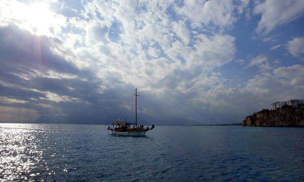 Schiff bei Antalya