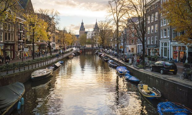 Netherlands Holland Amsterdam Old town canal PUBLICATIONxINxGERxSUIxAUTxHUNxONLY TAMF00920
