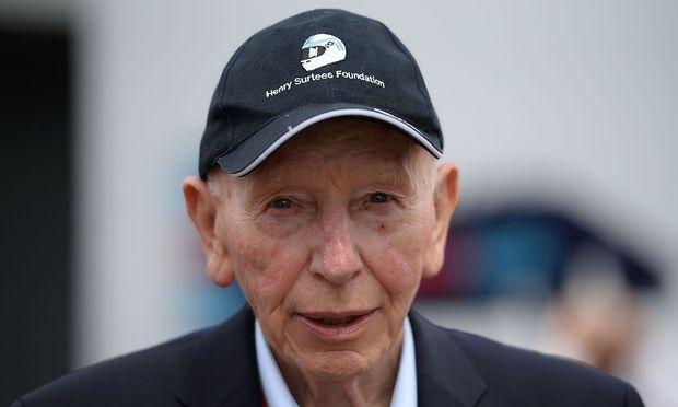 John Surtees im Sommer 2016