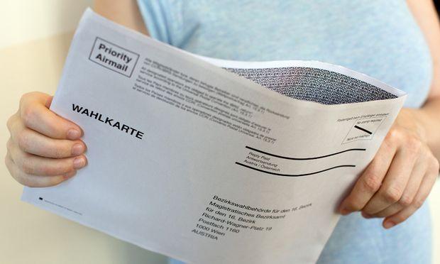 BP-WAHL: SCHADHAFTE WAHLKARTE