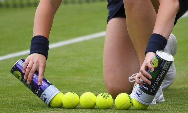 Wenn Tennis auf Bälle beschränkt bleibt.