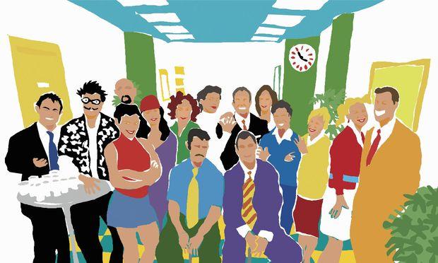 Es ist üblich, Mitarbeiterporträts auf der Unternehmenswebsite zu veröffentlichen, um das eigene Image aufzupolieren.