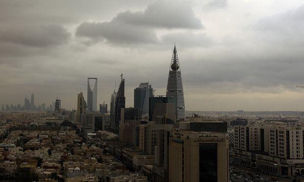 Die saudiarabische Hauptstadt Riad.