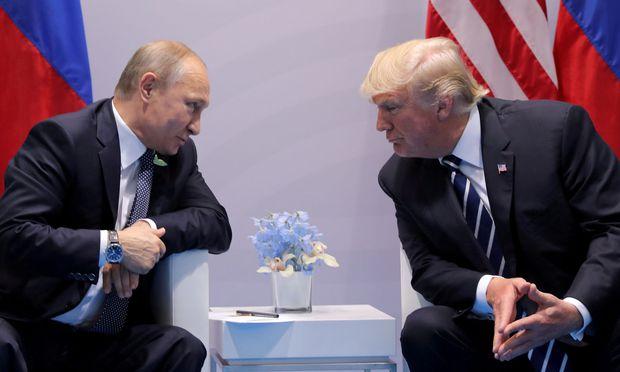 International Konflikte China Russland USA:Putin ist zu Treffen mit Trump bereit