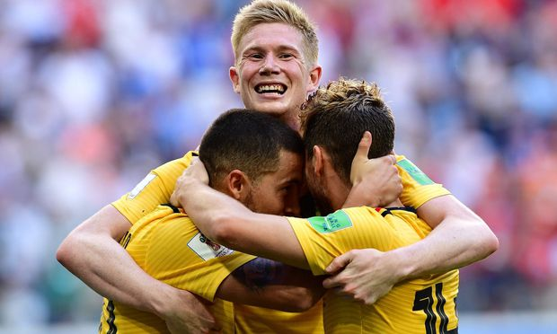 Meunier und Belgien stellen gegen England neuen WM-Rekord auf
