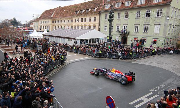 Vettel erobert Graz Spielberg