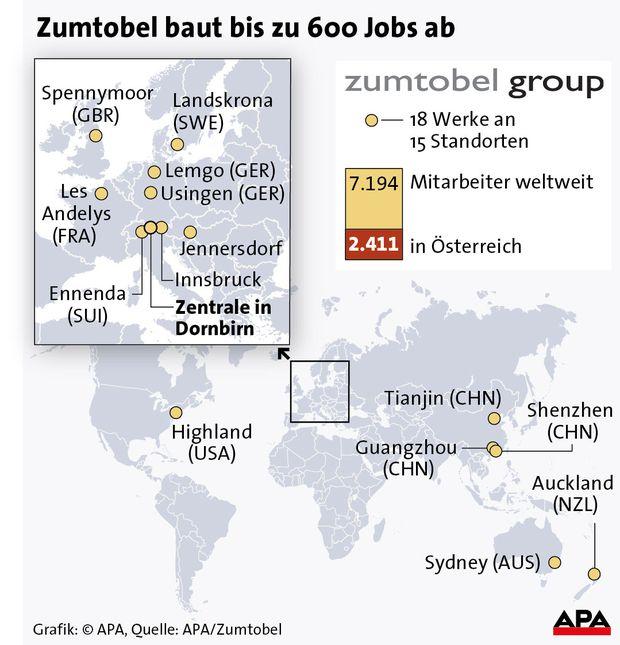 Zumtobel baut bis zu 600 Jobs ab