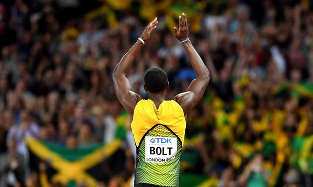 Usain Bolt verletzte sich im letzten Lauf seiner Karriere