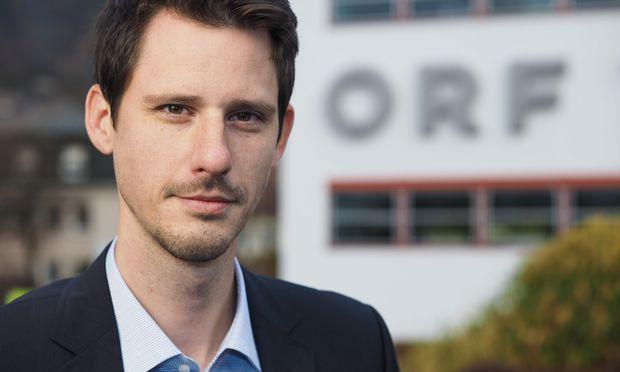 David Runer neuer Chefredakteur des ORF Tirol.