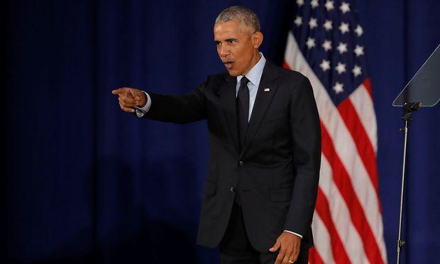 Obama: Trump-Regierung bei Zwischenwahlen abstrafen