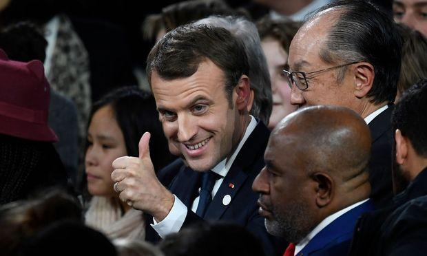 Emmanuel Macron hat Grund, sich zu freuen.