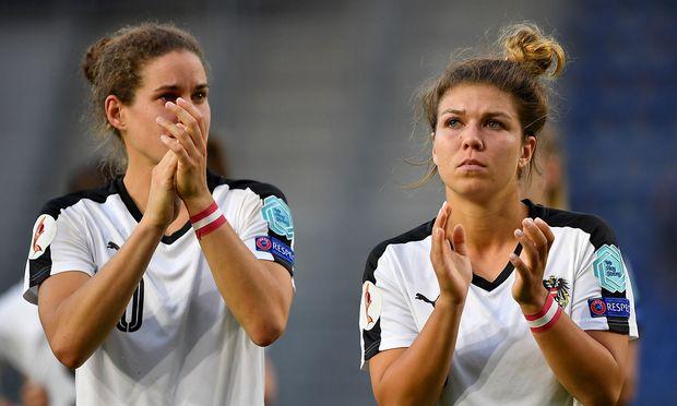 Nina Burger und Nadine Prohaska