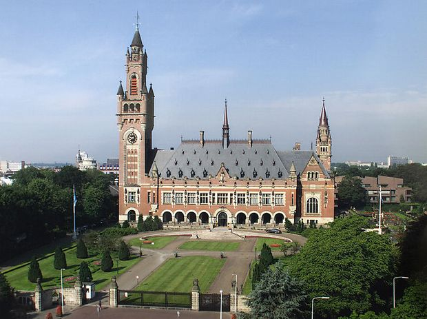 Der IGH in Den Haag