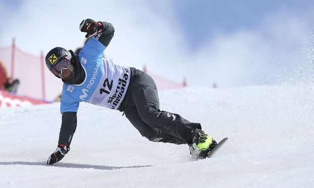 Snowboarding - FIS Snowboarding and Freestyle Skiing World Championships - Men's Parallel Giant Slalom