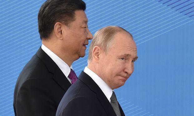 Wladimir Putin und Xi Jinping.