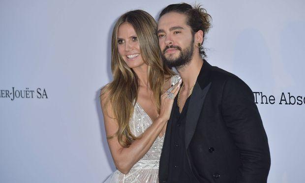 Klum und Kaulitz in Cannes