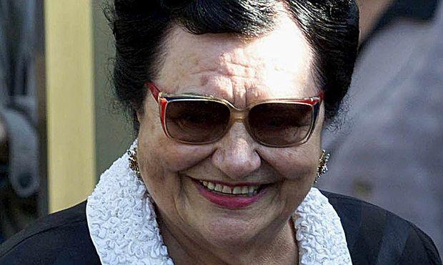 Titos Witwe Jovanka Broz