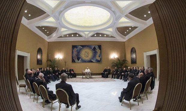 Der Papst hatte 34 Mitglieder der chilenischen Bischofskonferenz im Vatikan empfangen